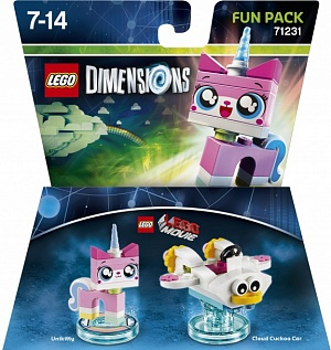 LEGO Dimensions Fun Pack - Lego Movie (Unikitty, Cloud Cuckoo Car)