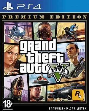 Grand Theft Auto V (GTA 5). Premium Edition (PS4) фото
