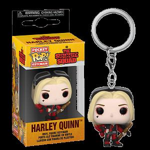 Брелок Funko Pocket POP! Keychain DC The Suicide Squad Harley Quinn (Bodysuit) 56006