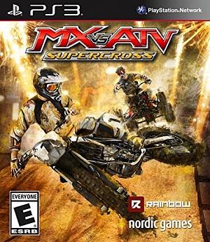 MX vs ATV Supercross (���������� ������, PS3)