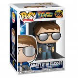 Фигурка Funko POP BTTF – Marty w/glasses (46912)