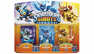Skylanders Giants. Pop Fizz, Trigger Happy, Whirlwind