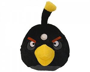 Мягкая игрушка Angry Birds Черная
