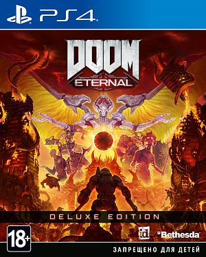 DOOM Eternal. Deluxe Edition (PS4) фото