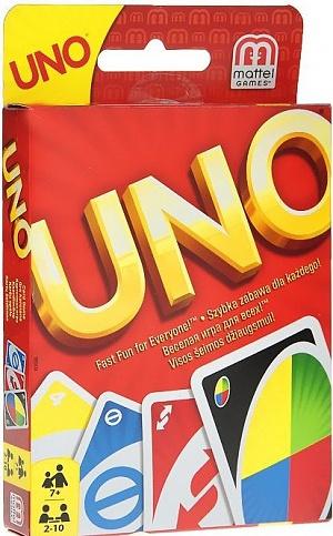 "Карточная игра ""UNO"" MATTEL фото"