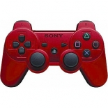 Controller Wireless DualShock 3 Red для PS3 (Не оригинал)