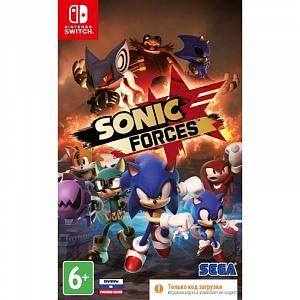 Sonic Forces (код загрузки) (Nintendo Switch)