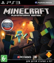 Minecraft: Playstation 3 Edition (PS3) (GameReplay)