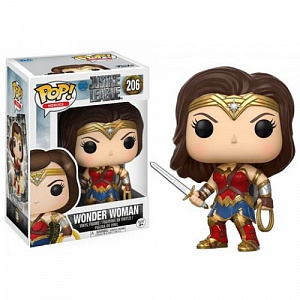 Фигурка Funko POP! Vinyl: DC: Justice League: Wonder Woman 13708