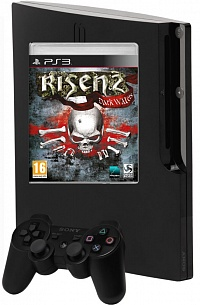 PlayStation 3 320 GB + игра Risen 2. Dark Waters (русская версия) (PS3)