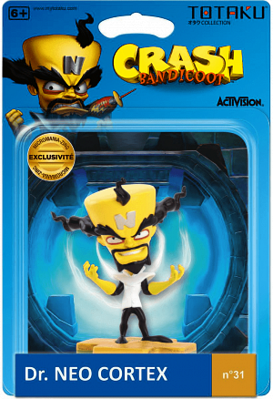 Фигурка Totaku – Crash Bandicoot: Dr. Neo Cortex фото