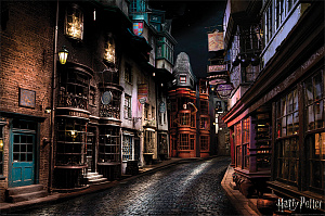Постер Maxi Pyramid – Harry Potter (Diagon Alley) (61 x 91 см) фото