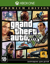 Grand Theft Auto V (GTA 5). Premium Edition (Xbox One)