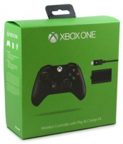 Controller Wireless with Play & Charge Kit Black (Xbox One)