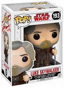 Фигурка Funko POP! Bobble: Star Wars: E8 TLJ: Luke Skywalker (POP 4) 14745