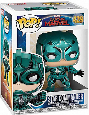 Фигурка Funko POP Marvel – Captain Marvel: Star Commander