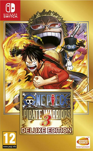 One Piece Pirate Warriors 3. Deluxe Edition (Nintendo Switch) фото