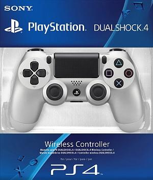 Геймпад Sony DualShock серебро v2 (CUH-ZCT2E)
